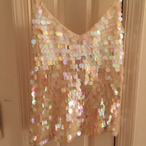 Sequin top - shimmer like a mermaid